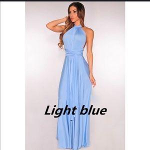 Dresses - Convertible wrap party dress